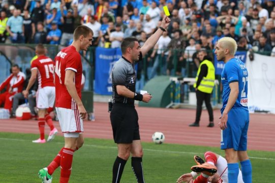 The referee assignments for the Eternal derby