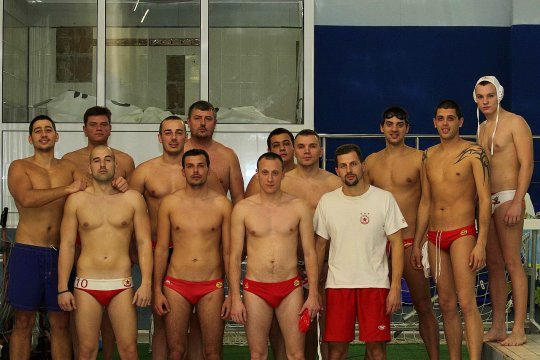 The CSKA waterpolo team will try defend the Cup