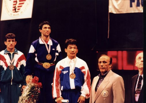 1996   Valentin Yordanov Won The Olympic Title He Had Dreamed Of