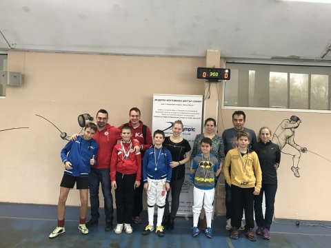 "The CSKA fencers with many medals at ""Sofia Open"""