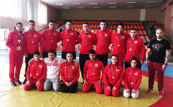 The CSKA sambo contestants won 17 medals (PHOTOS)
