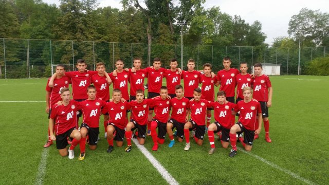 CSKA U15 went to a training camp
