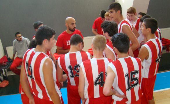 5th consecutive win for the U16 basketball team