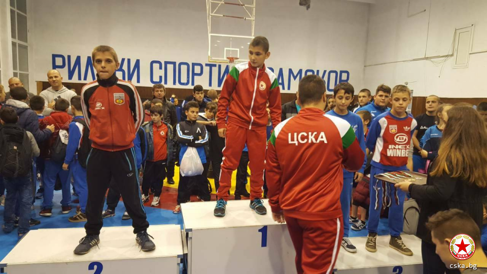 CSKA with a champion from international tournament