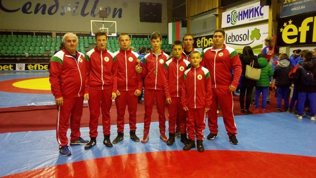 Three medals for CSKA from strong tournament
