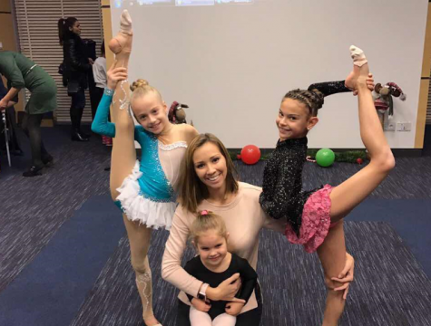The CSKA gymnastics juniors took part in a charity show