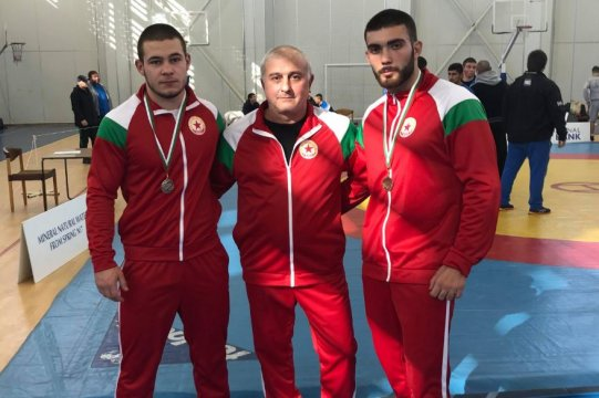 Two medals for the greco-roman wrestling competitors of CSKA