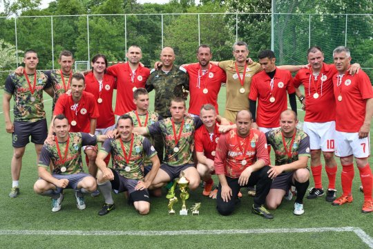 The veterans of CSKA won the tournament and caused a furor among the fans (PHOTOS)