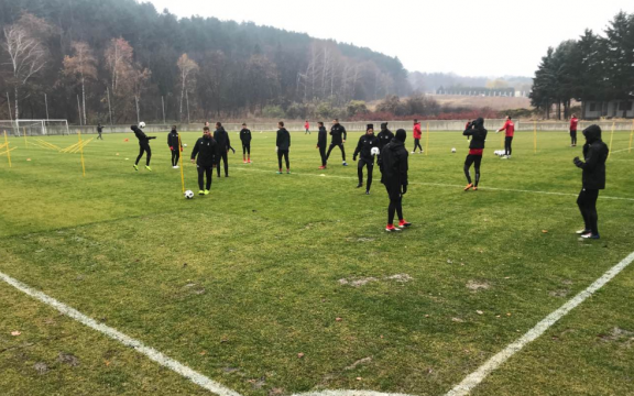 We started preparing for Slavia