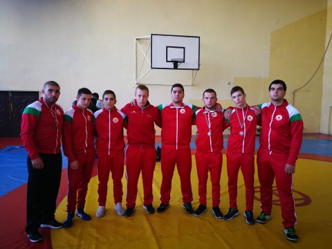 CSKA's wrestlers with 3 medals from international tournament