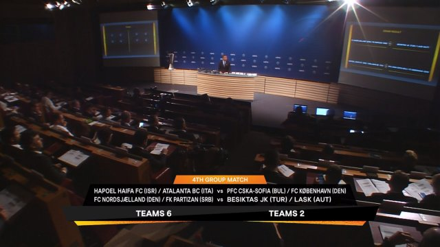 Draw for the play-off round of Europa League