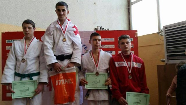 CSKA with 3 medals at the Olympia judo tournament