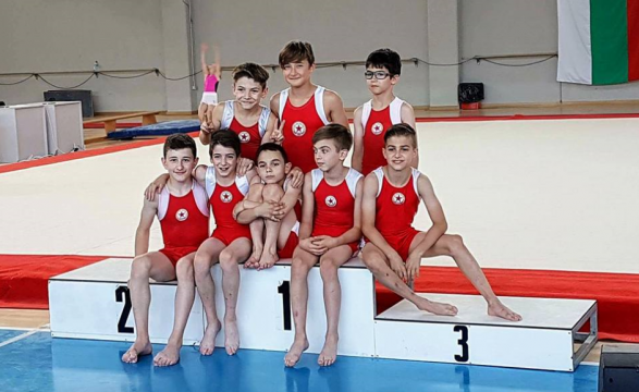 21 medals and a cup for the CSKA gymnasts