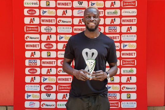 Ali Sowe is player of the round