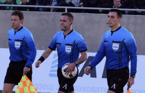 The referee assignments for CSKA - Vitosha