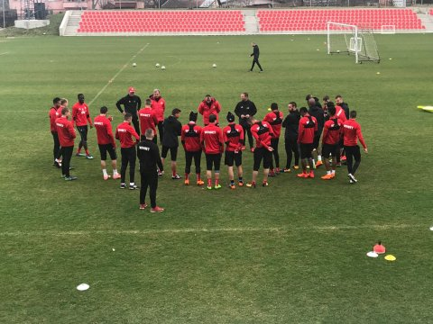 The preparation for the Eternal derby began