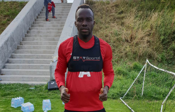 Ali Sowe with first training session (PHOTOS)
