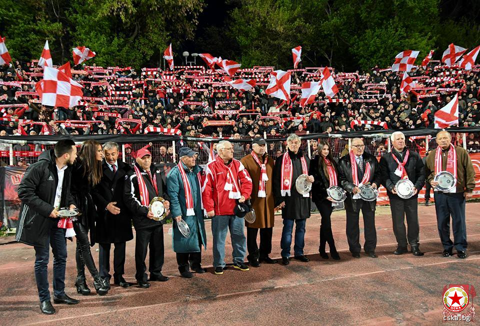 """Everyone with a scarf"" against Ludogorets"