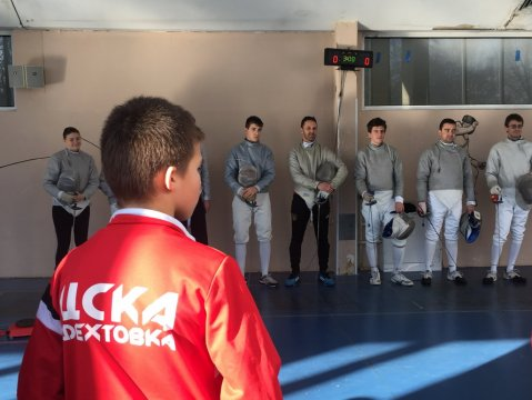 Fencers from 5 clubs raised 3000 leva for Marina (video and gallery)