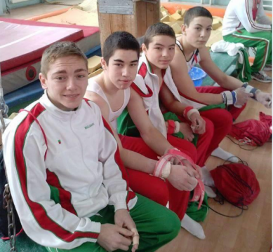 The CSKA gymnasts are preparing for the Bulgaria cup