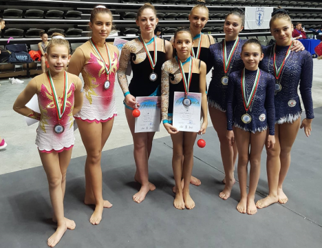 "CSKA with 10 medals from ""Dunavska perla"" (PHOTOS)"