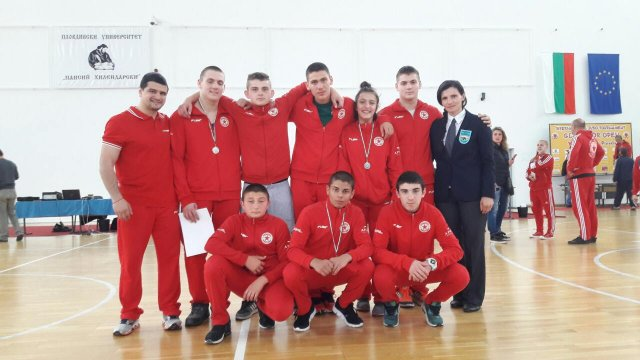 12 medals for CSKA in Plovdiv