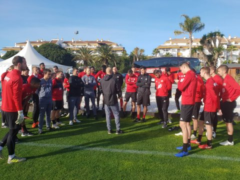 The camp in Spain is extended