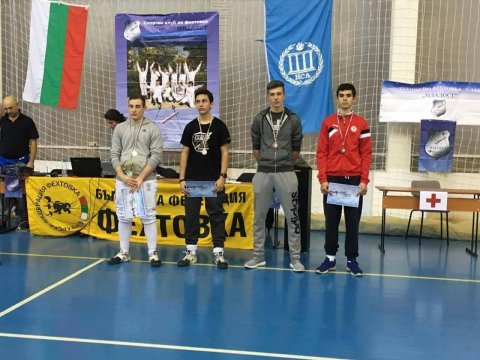 Another medal for the CSKA fencers in the Cup of Bulgaria
