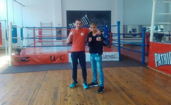 A CSKA boxer aims for the gold in Ruse