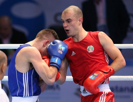 A final and 3 semi finals for the CSKA boxers today