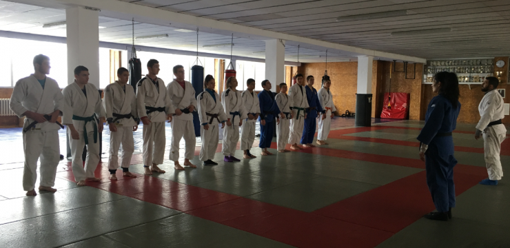 20 CSKA athetes at the republican judo championship