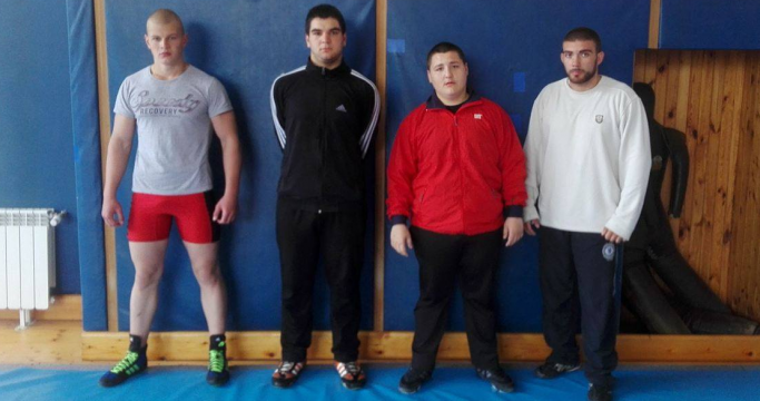 CSKA with four wrestlers at an international tournament