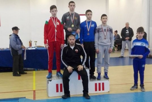 Silver medal for our greco-roman wrestling contestant