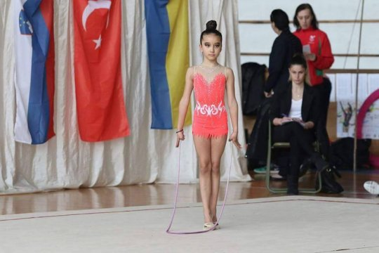 The CSKA rhythmic gymnasts with medals in Germany and Serbia