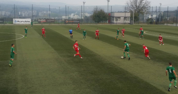 CSKA U17 with draw in Razgrad