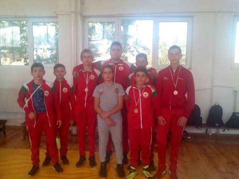 Three medals for CSKA's wrestlers