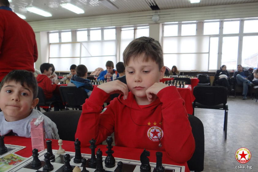 Important tournament for the CSKA chess players