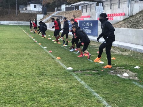 CSKA is training without six national players