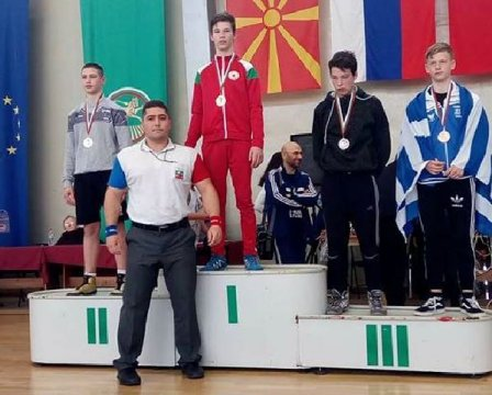 Gold medal for our Greco-Roman contestant from international tournament