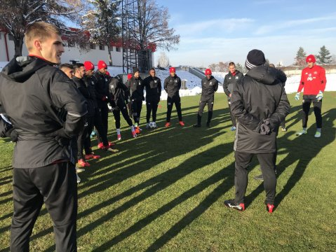 18 players in the CSKA squad for the Septemvri match (PHOTOS)