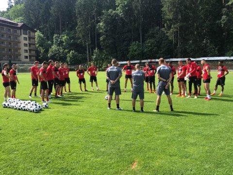 First training session in Teteven (PHOTOS)