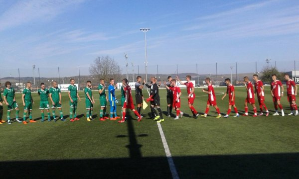 CSKA U18 retreated in the first match of the 1/8-cup finals