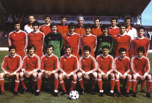 1982 ★ The Red machine smashed Real Sociedad and Liverpool