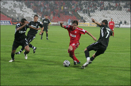 2006 - Away goals stopped CSKA against Besiktas