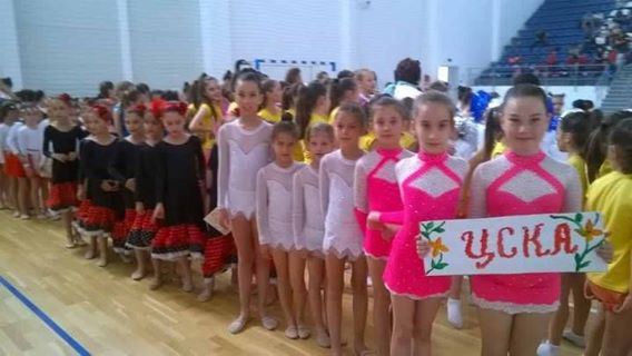 """The Army Girls"" with second and third plaace at ""Gimnastrada"""