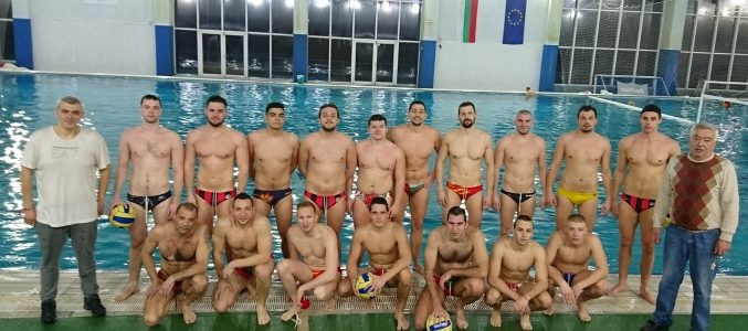 CSKA with 3 national players for the water polo european qualification