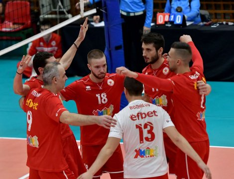 CSKA's volleyball team lost to Dobdrudzha