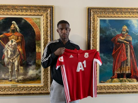 CSKA strengthened its attack with English winger