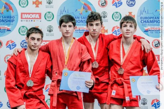 CSKA with two medalists from the European Championship