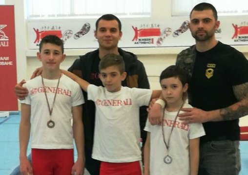 "Our gymnastics took part in the Cup ""Generali"""